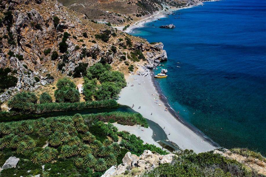 Plaża Preveli