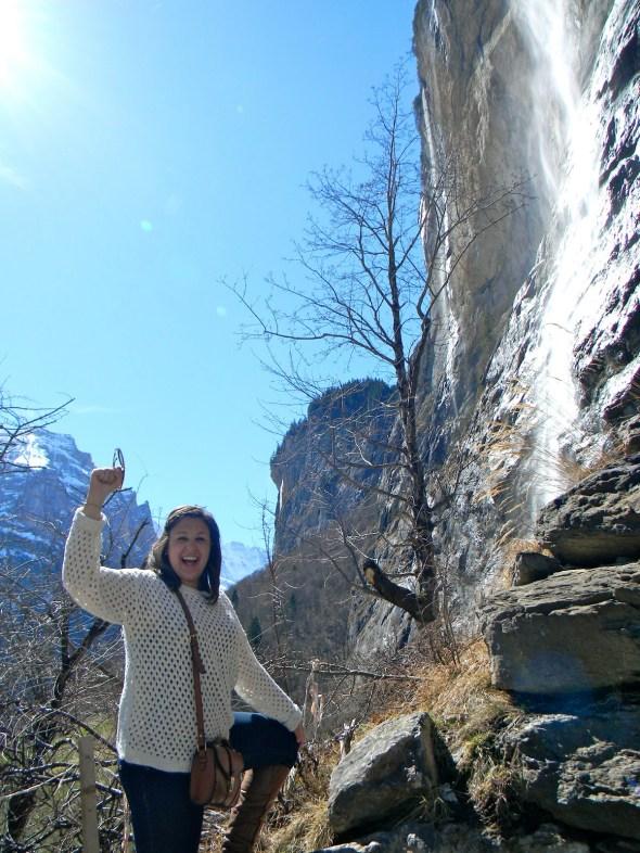 So athletic when I climb big rocks.