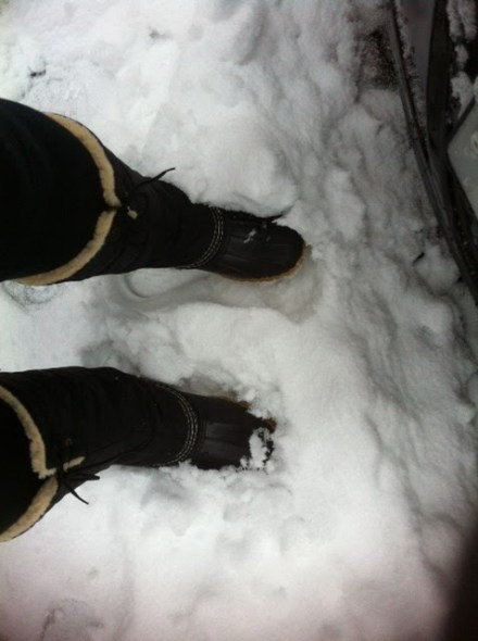 BEST BOOTS I'VE EVER OWNED. I lit'rallydon't feel any coldness through them when I plow through the snow. They're 9% (?) off at L.L. Bean right now. GETCHU SOME.