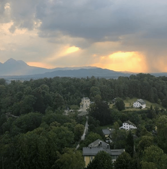The view from the Fortress