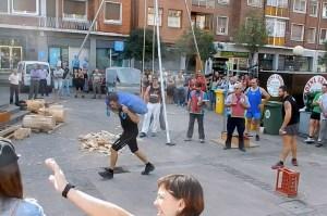 basque sports: sack carry