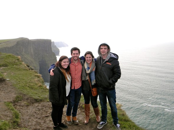 Here's one pic of the Cliffs. Obvi doesn't do it justice. Click this pic to make it bigger.