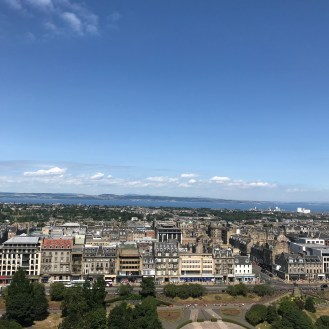 View from atop Edinburgh Castle