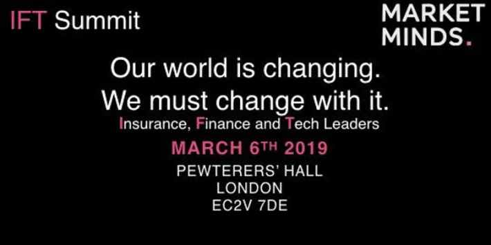 Fintech Events Conferences London 2019 - IFT Summit 2019