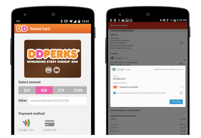 Google Wallet Adds New Integrations With Shopify, Seamless, Dunkin' Donuts And More