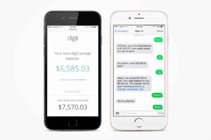 Automated Savings Startup Digit Raises $11.3M From General Catalyst
