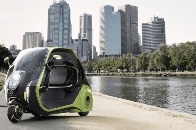 This Sleek Electric Tuk-Tuk Is Designed To Battle Traffic In Your City