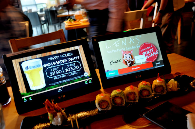 Cuscapi's Rev tablets roll out at Ministry of Food Singapore outlets