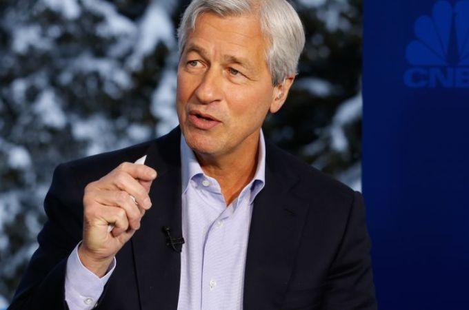 JP Morgan CEO Says 'There's Nothing Mystical' About Online Lending Startups