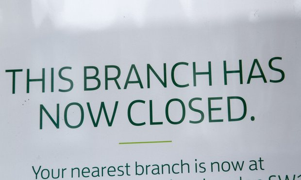 Bank branch closures trigger high street alarm bells