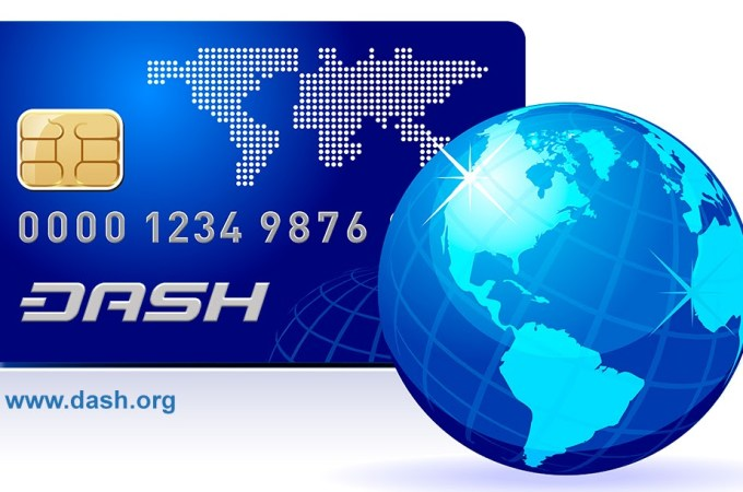 Digital currency Dash comes to Shake debit cards