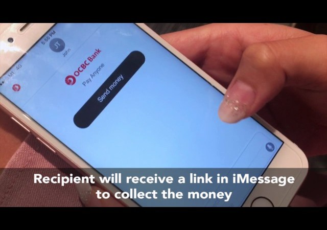 OCBC enables cash transfers via Siri and iMessage