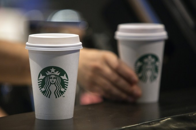 Starbucks mobile orders bring traffic jams to the pickup counter