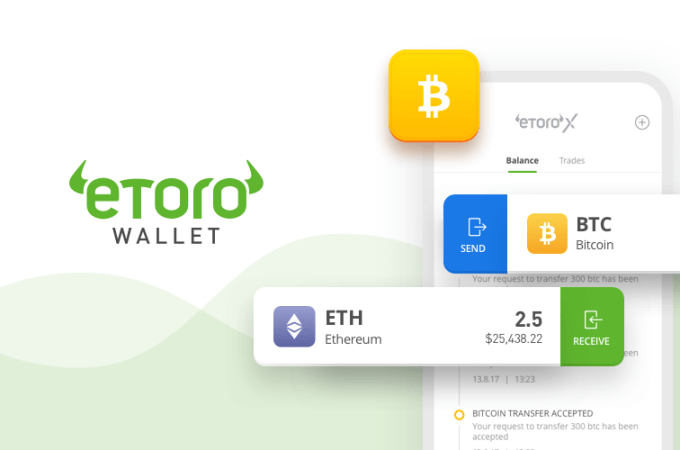 eToro Wallet Mobile App Now Allowing Users to Buy Crypto With Fiat