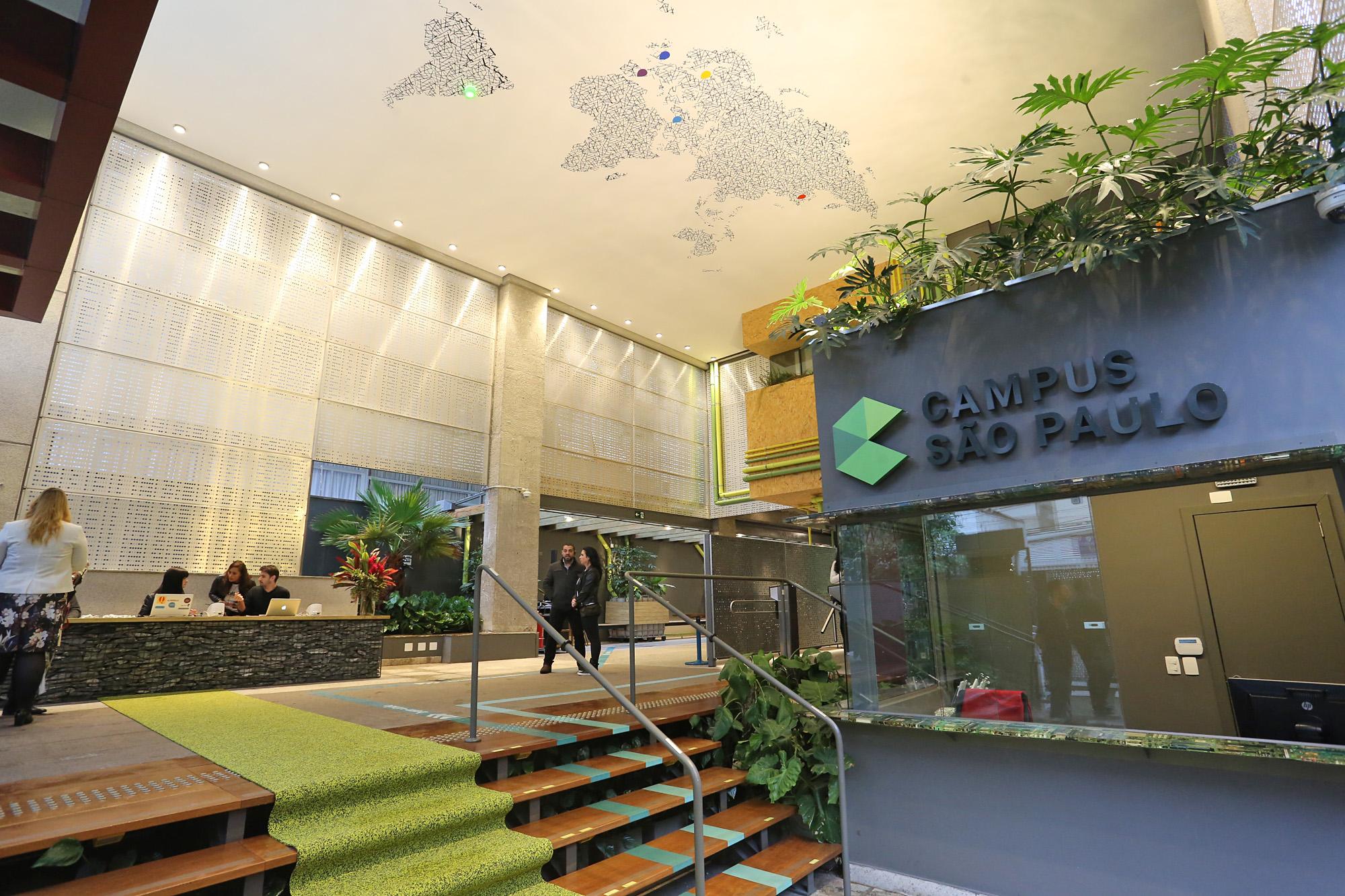 Google campus em SP