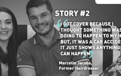 Marcelle is a true #21Lives hero!