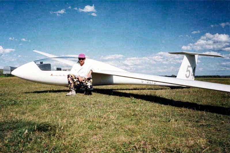 Jay's Schemp Herth Mini Nimbus sailplane