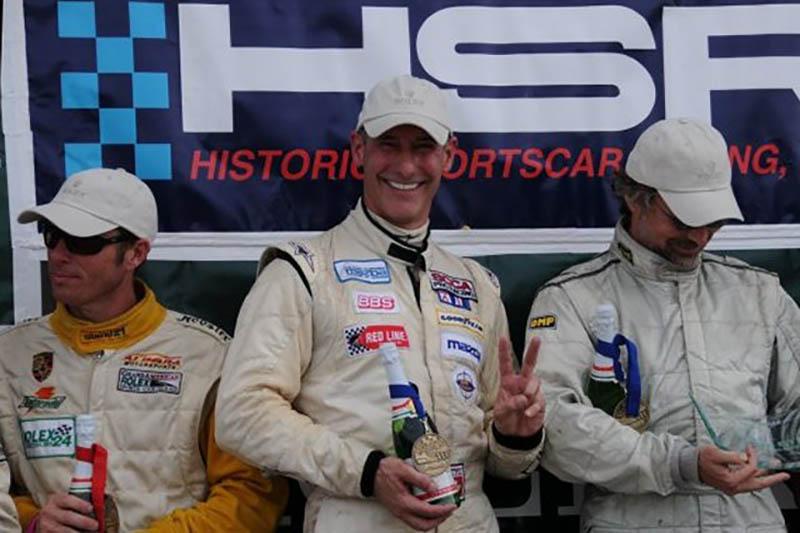 Jay Daytona podium