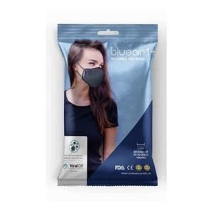Blue Air Face Mask - Black