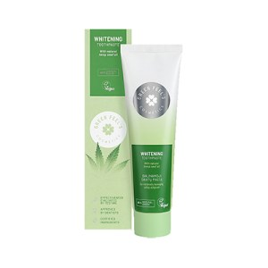 Green Feel's whitening toothpaste with hemp