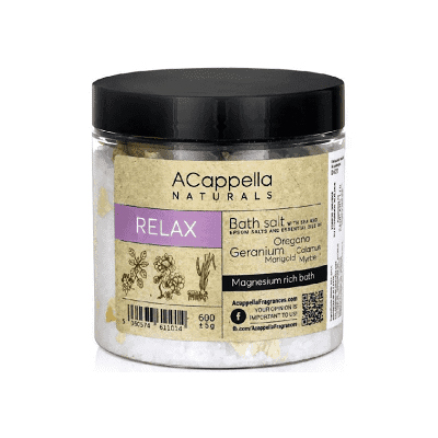 Acappella Natural Relax Premium Bath Salts