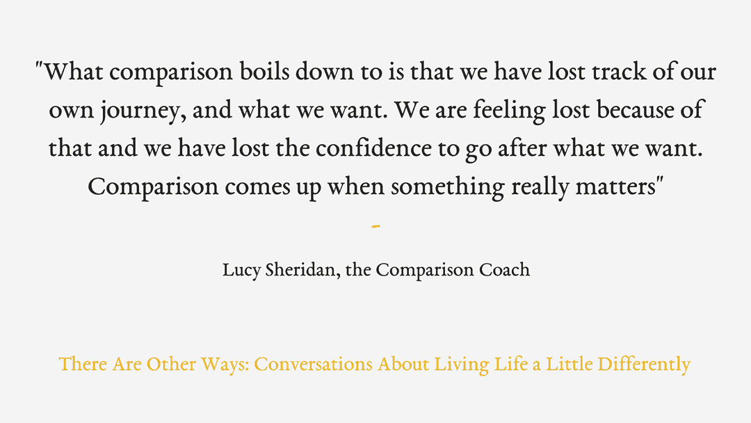 Episode Ten: Lucy Sheridan on comparison and social media