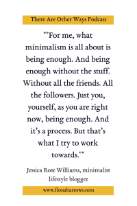 Jessica Rose Williams on There Are Other Ways
