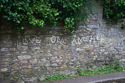 love-one-another wall