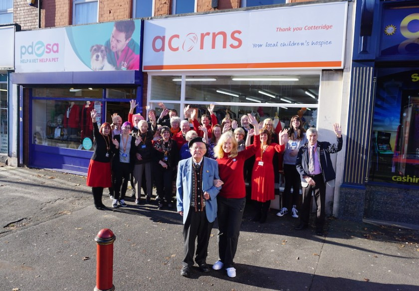 Acorns Cotteridge 30th Anniversary attendees