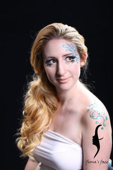 Creative makeup & hair by fiona; Model: Fatima