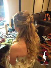 bridal makeup & hairdo by Fiona