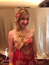 bridal makeup & hairdo by Fiona