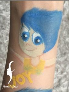 HK face painting artist fiona