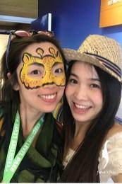 Face Painting in Hong Kong Sevens 2018
