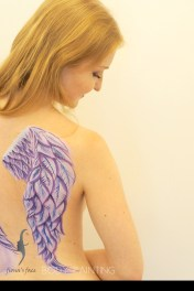 Idea, Artist & Photo by Fiona; Model: Verena Thiele