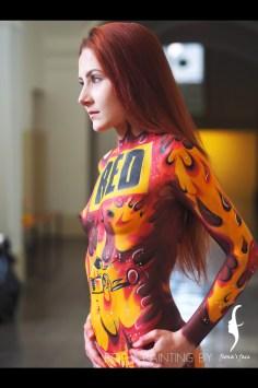 Idea, Artist & Photo by Fiona; Model: Bianca