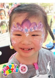 HK Face painting Gold Coast Easter Egg Hunt