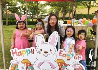 HK Face painting Gold Coast Easter Egg Hunt