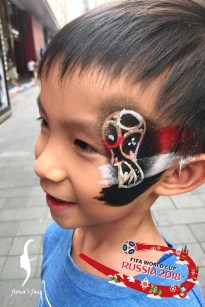 HK Waterproof face & body painting art by fiona's face