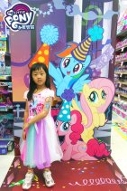 My Little Pony face hand painting by Fiona