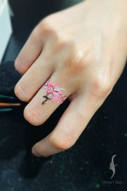 waterproof handcrafted tattoo for corporate event by HK artist Fiona Lam