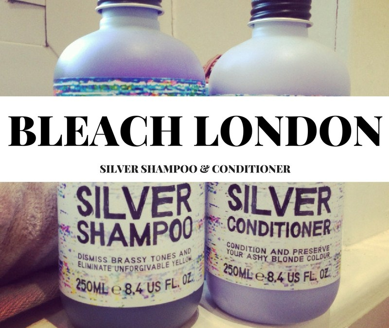 Bleach London Silver Shampoo & Conditioner