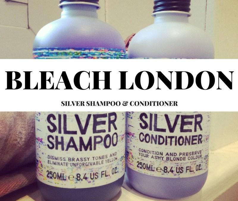 Bleach London Silver Shampoo & Conditioner
