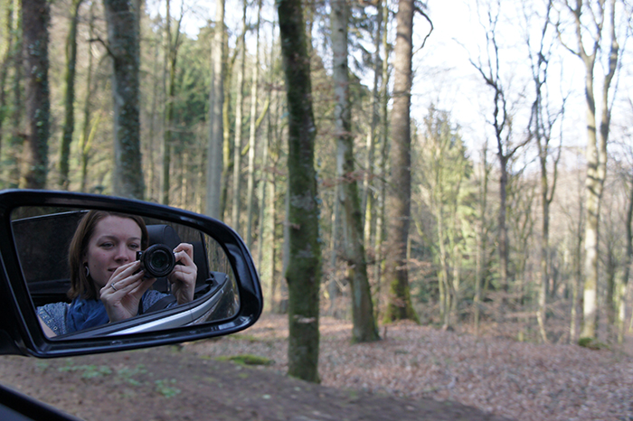 Driving in the Mullerthal