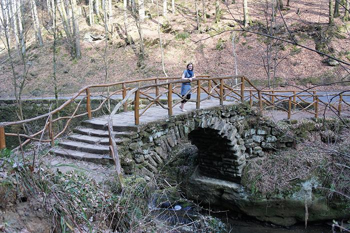 Bridge over river, Mullterhal