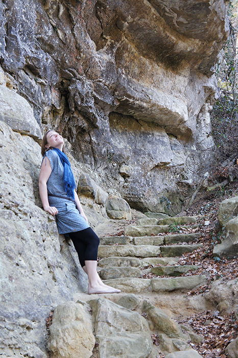 Cliff walk in the Mullerthal