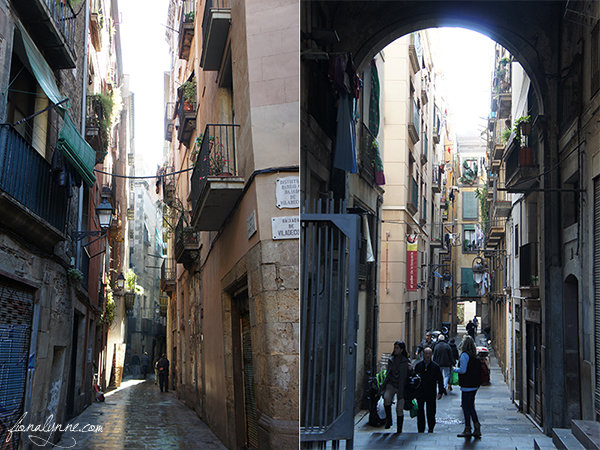 Barcelona Streets - weekend tips from Fiona Lynne