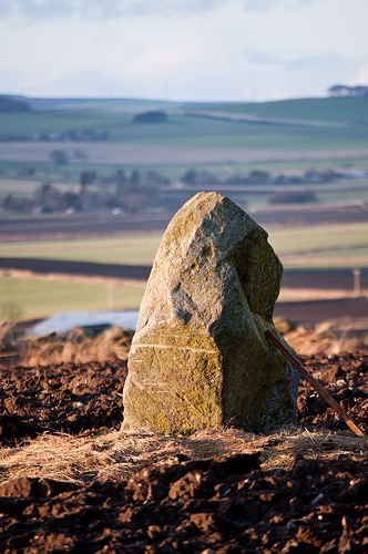 Standing Stone by Annette S Thomson
