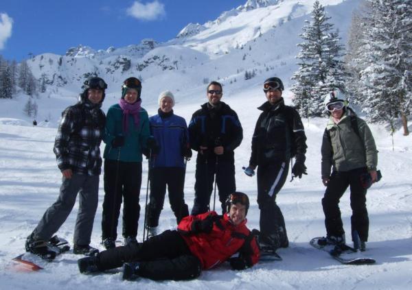 Chamonix Skiing Group