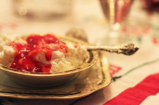 Risalamande - Danish Christmas dessert